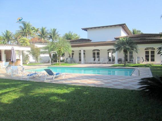 Casa De Luxo Em Condomínio/ Acapulco/ Guarujá - Sp. Enl21-1