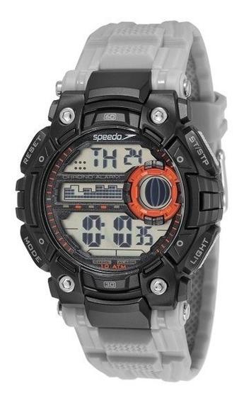Relógio Speedo Masculino Digital Cinza 80637g0evnp2