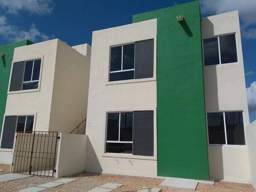Imagen 1 de 8 de Duplex Planta Alta Cancún Villas Lakin Arco Norte