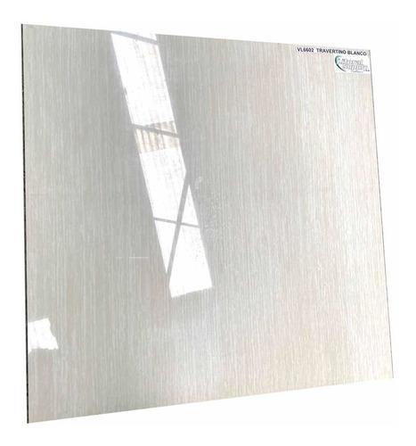 Porcelanato Blanco Travertino Pulido Precio Vl6602
