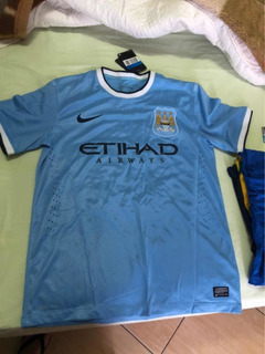 Camiseta Manchester City Original Nova 16 Kun Agüero