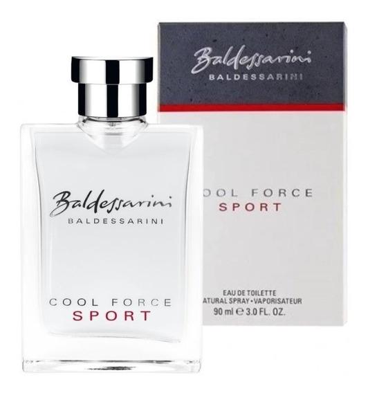 Baldessarini Cool Force Sport Edt 90ml - Masculino Original