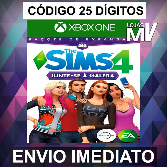 The Sims 4 Junte-se Galera - Xbox One Código 25 Dígitos