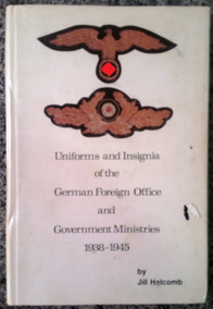 Uniforms And Insignia Of The German Foreign Office