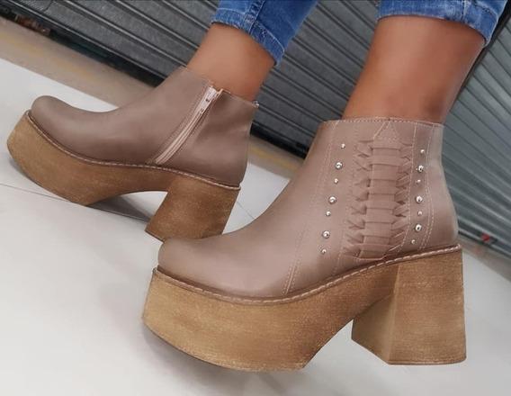 Oferta ! Botas Mujer Zapatos Platafoma Botinetas