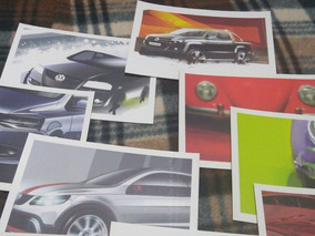 10 Cartões Postais Volkswagen - Frete Incluso