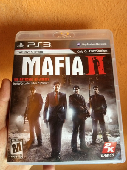 Mafia 2 Ps3 Original Midia Fisica Semi Novo