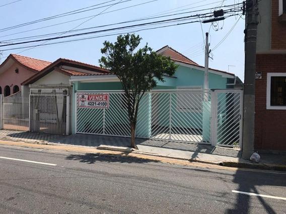Casa Residencial À Venda, Santa Paula, São Caetano Do Sul. - Ca0022
