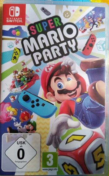 Super Mario Party, Nintendo Switch, Midia Fisica.