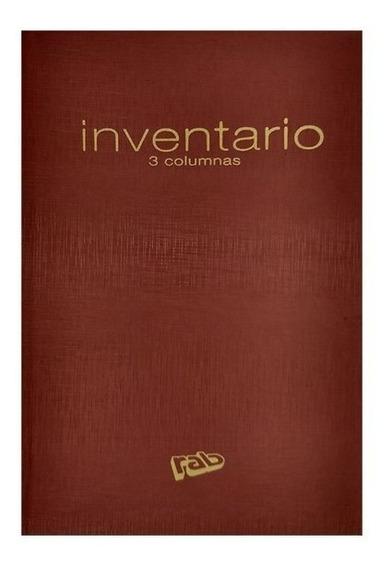 Rab Libro Inventario Oficio 3 Columnas 2233 40 Paginas