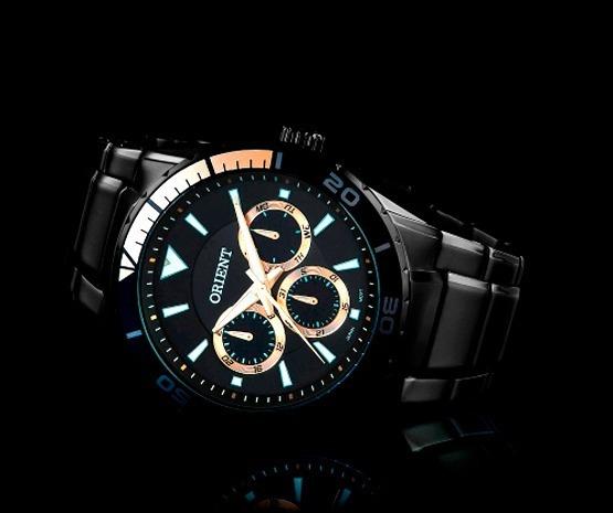 Relógio Orient Preto Masculino Mpssm002p1px