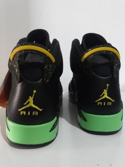 Tênis Nike Air Jordan 6 World Cup Brasil