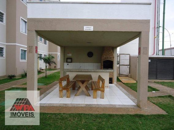 Apartamento Com 2 Dormitórios Para Alugar, 50 M² Por R$ 700,00/mês - Praia Dos Namorados - Americana/sp - Ap1381