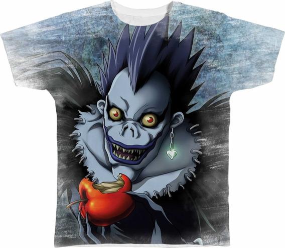 Camisa Camiseta Personalizada Shinigami Ryuk Death Note