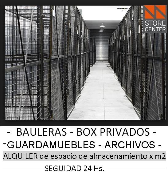 Bauleras - Guardamuebles - Box Privados 45m2 Seguridad 24hs
