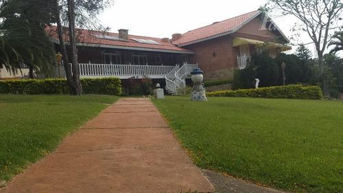 Casa Com 4 Dormitórios À Venda, 450 M² Por R$ 1.900.000,00 - Condomínio Marambaia - Vinhedo/sp - Ca1777