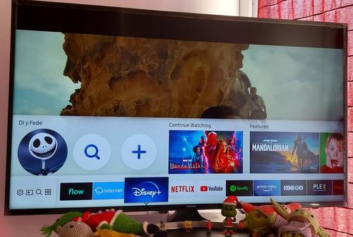 Smart Tv 4k Led Samsung 50' Modelo Un50mu6100