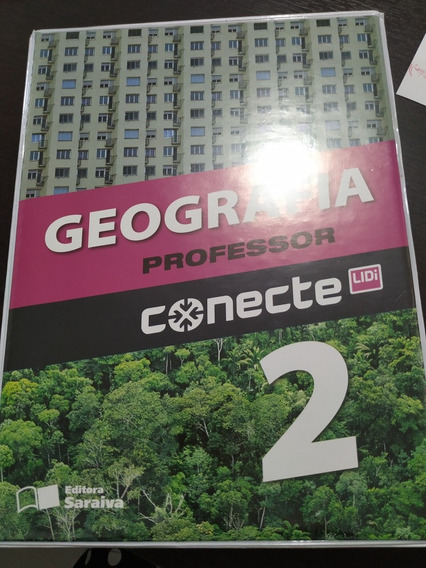 Box De 2 Livros Geografia Conecte Vol.2 ( Do Professor)