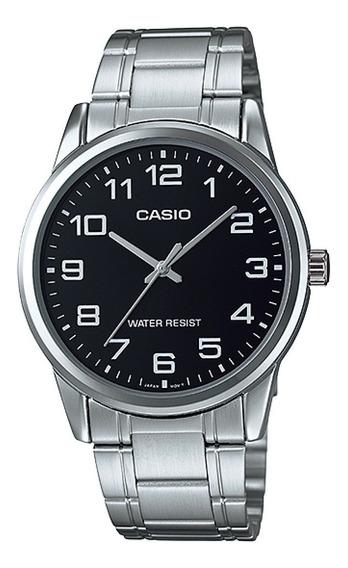 Relógio Casio Masculino Prata Mtp-v001d-1budf Original Nota