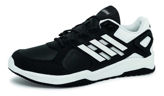 Tenis Para Hombre adidas Modelo Cg3502, Negro/blanco