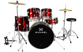 Bateria Michael Audition Dm828n 22/10/12/16/14 Wr - 30%off