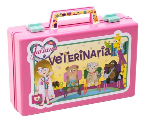 Imagen 1 de 4 de Juliana Veterinaria Mascota Valija Grande Accesorio Edu Full