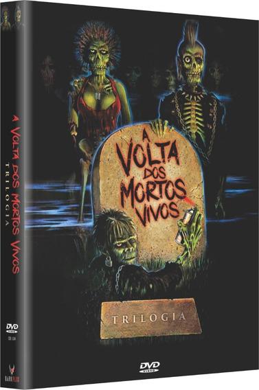 A Volta Dos Mortos Vivos - Trilogia - Box Com 3 Dvds - Novo