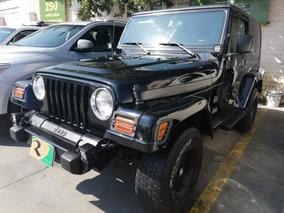 Jeep Wrangler X Techo Duro At