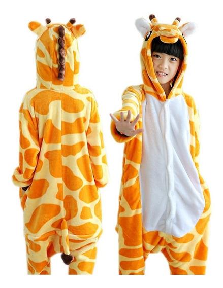 Pijama Jirafa Infantil Niño Kigurumi Disfraz Selva Animales