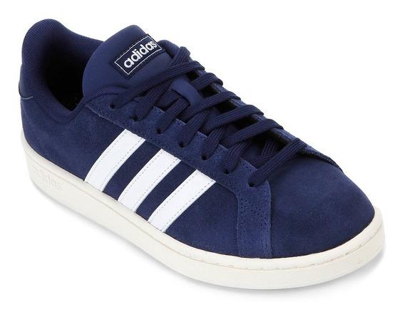 Tênis adidas Grand Court Azul Original