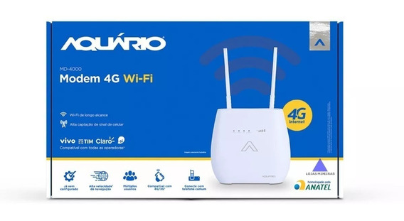 Modem 4g Wi-fi Internet 4g Lte 3g Compatível Com Telefone Ce