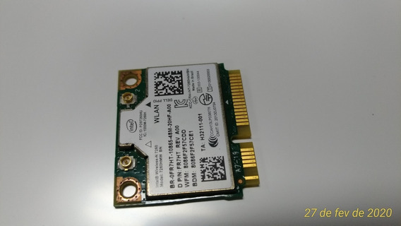 Wi Fi Model N7260 Dual Band 2,4 5ghz Bluetooth 4.0