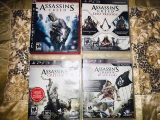 Colección Assassins Creed (lote De 4 Discos)