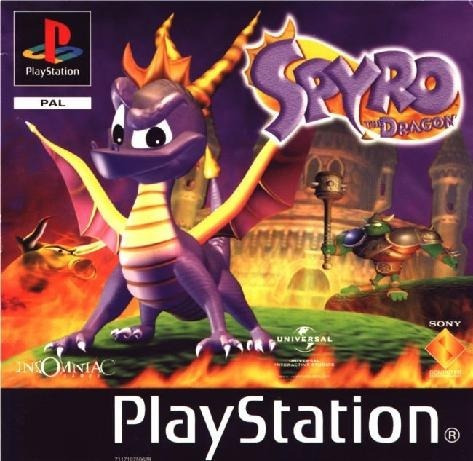 Inbox Patch Spyro The Dragon Playstation One Ps1 Pxs Pc *ps2