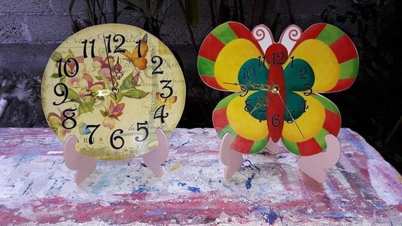 12 Centros De Mesas Infantiles Mdf Reloj Princesas Sofia