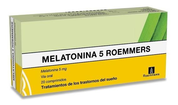 Melatonina 5 Mg X 20 Comprimidos.