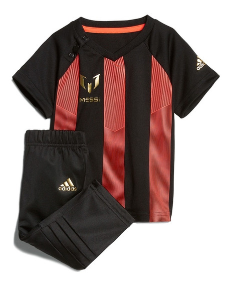 Conjunto Futbol Soccer Mini Me Messi Bebe adidas Cf7432