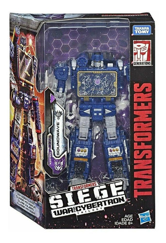 Transformers Siege War For Cybertron Trilogy Soundwave E3418