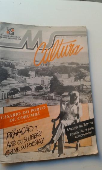 Revista - Ms Cultura 1 Mai/85 - Mato Grosso Do Sul - Pichaçã