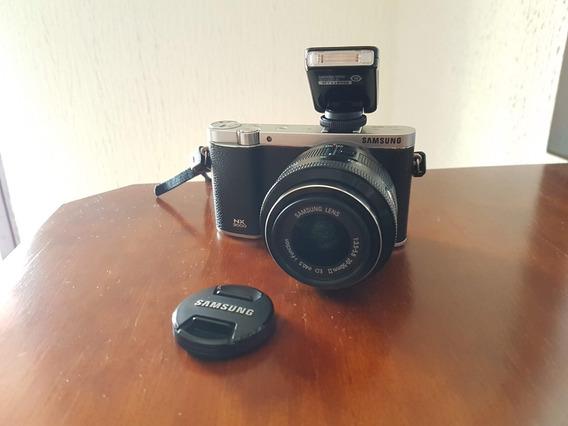Câmera Mirrorless - Samsung Nx3000