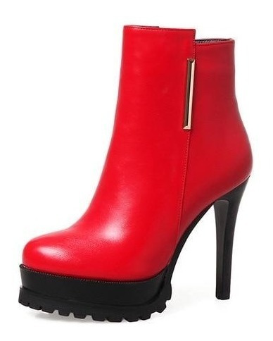 Ankle Boot Feminina J&k 50225 Importado