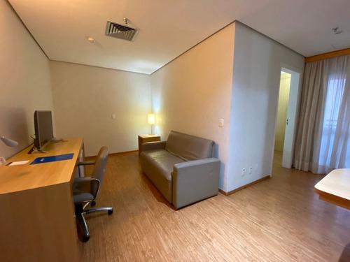 Imagem 1 de 15 de Flat Com 1 Dormitório Para Alugar, 44 M² Por R$ 1.500,00/mês - Centro - Santo André/sp - Fl0017