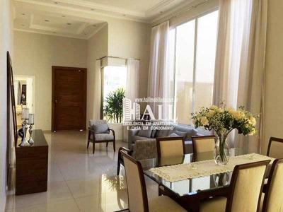 Casa De Condomínio Com 3 Dorms, Condomínio Golden Park Residence, Mirassol - R$ 1.170.000,00, 250m² - Codigo: 2279 - V2279