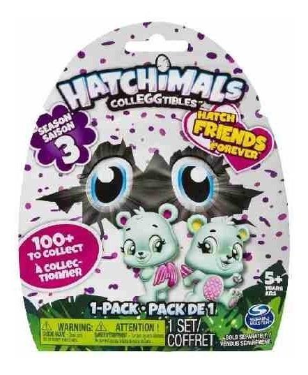 Hatchimals Serie 3 - Saquinho Ovinhos Surpresa Ovos Sunny