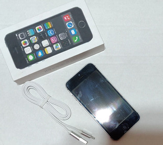 iPhone 5s 16 Gb Prata - Cinza Espacial - Semi Novo - Apple