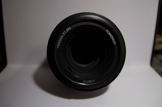 Lente Youngnuo Yn 50mm Para Nikon 1.8 Af-s (usada) Acompanha Bolça