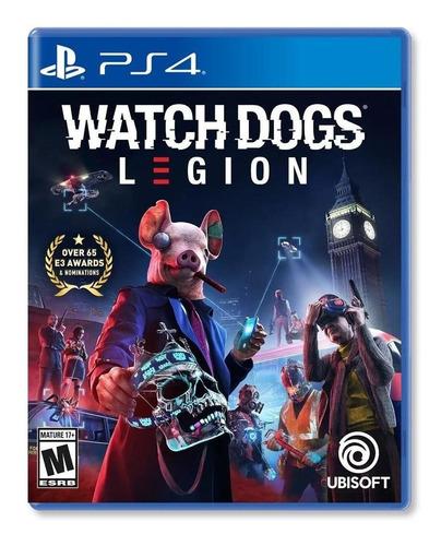 Imagen 1 de 4 de Watch Dogs Legion - Ps4