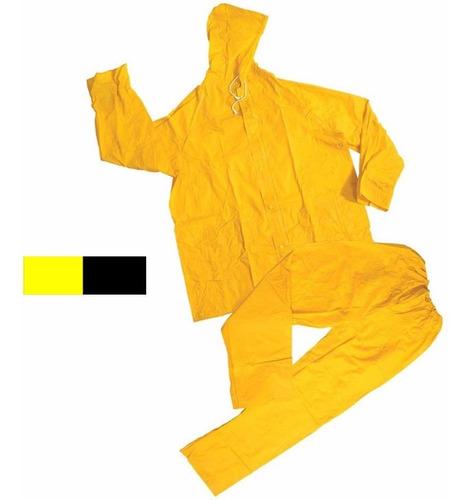 Equipo De Lluvia (conjunto) Amarillo G P