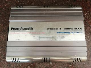 Planta Sonido Power Acoustik 4 Canales 800w