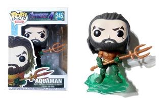 Muñeco Aquaman Símil Funko Pop! Articulado 9 Cm